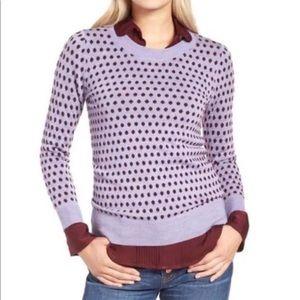 J. Crew size XL merino Wool knit crewneck sweater